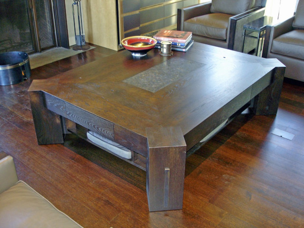 Image of: Granite Coffee Table Furniture