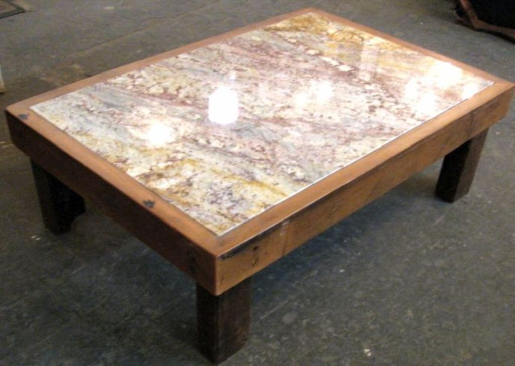 Picture of: Granite Coffee Table Making