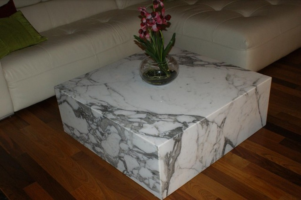 Image of: Granite Coffee Table Sets