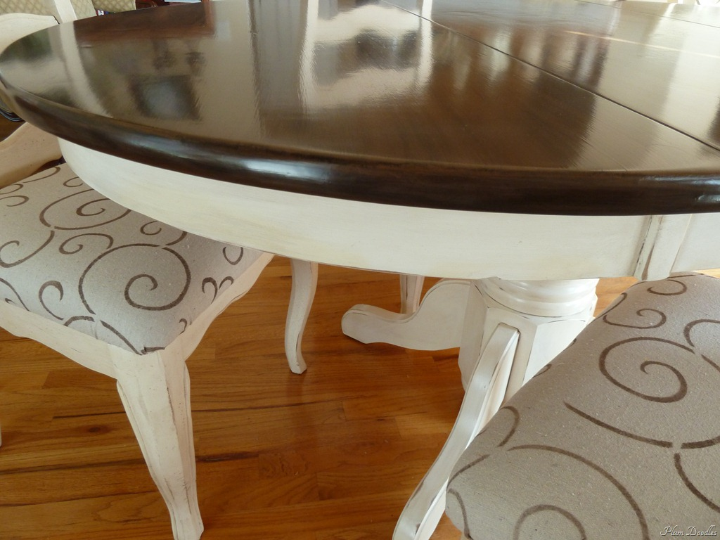 Image of: How to Refinish Wood Table With Brown