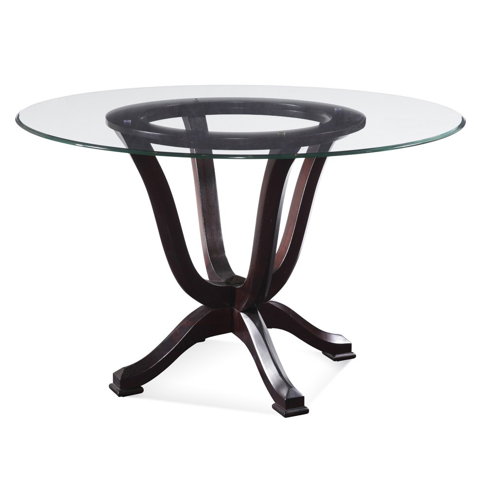 Picture of: Idaes Pedestal Table Base for Glass Top