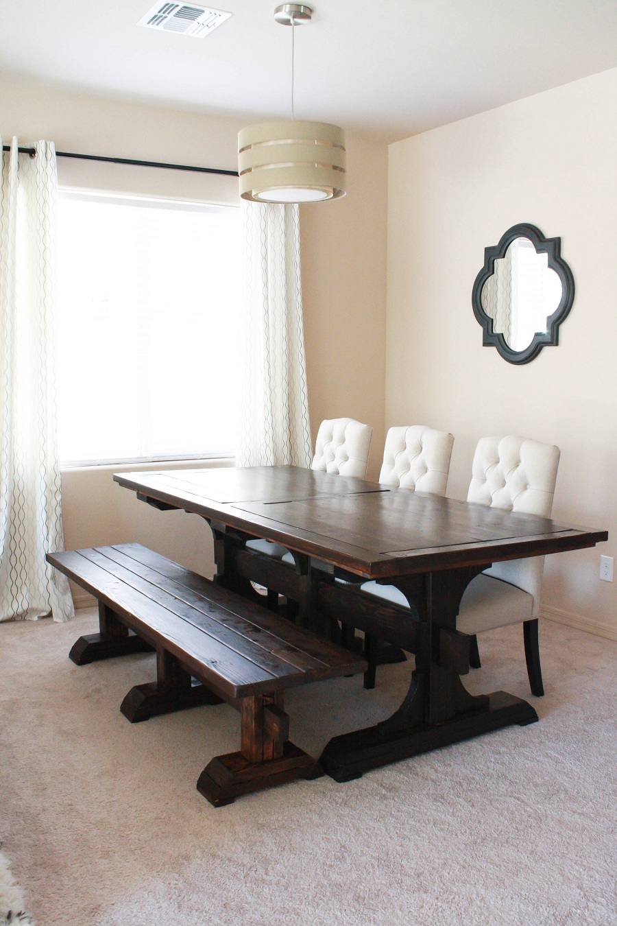 Image of: Ideas Farmhouse Table Ana White