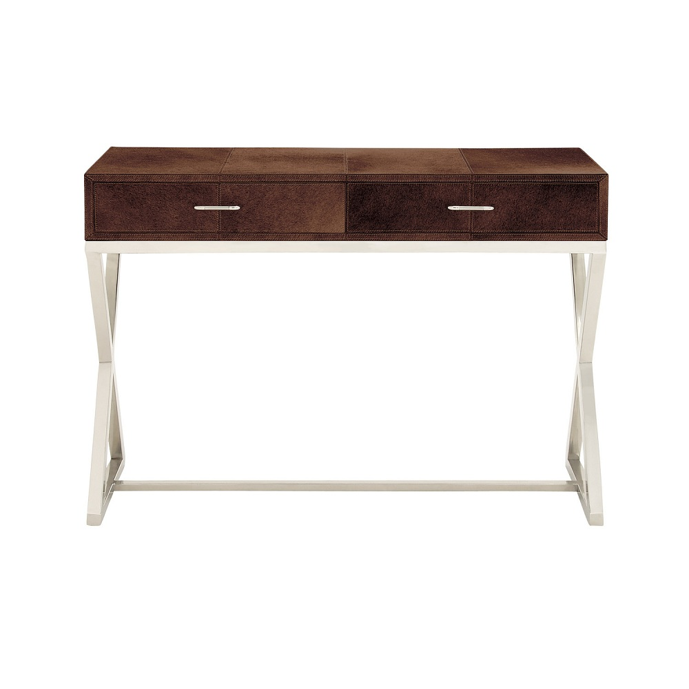 Picture of: Ideas White Lacquer Console Table