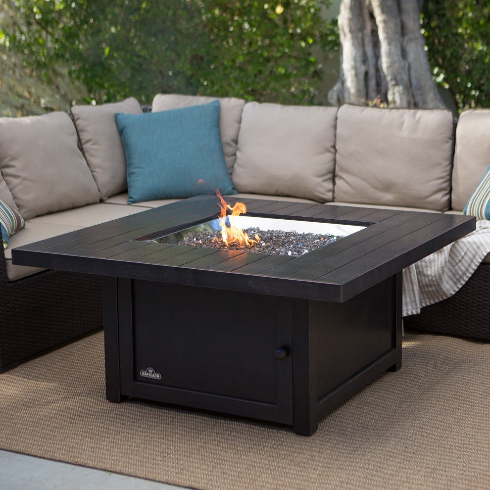 Image of: Ideas Wood Burning Fire Pit Table