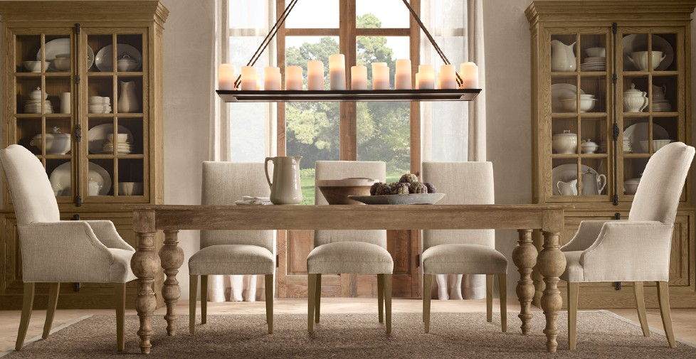 Picture of: Inspiring Restoration Hardware Dining Table