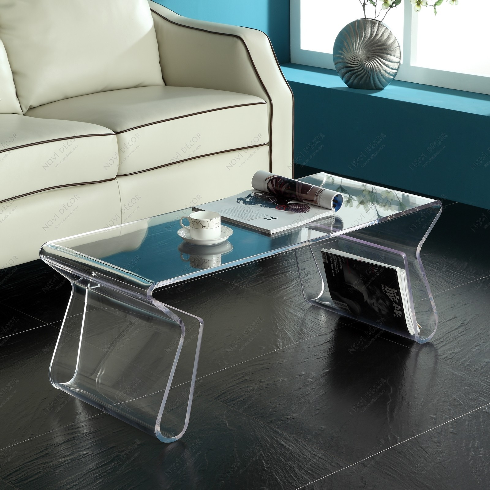 Image of: Interior Acrylic Coffee Table