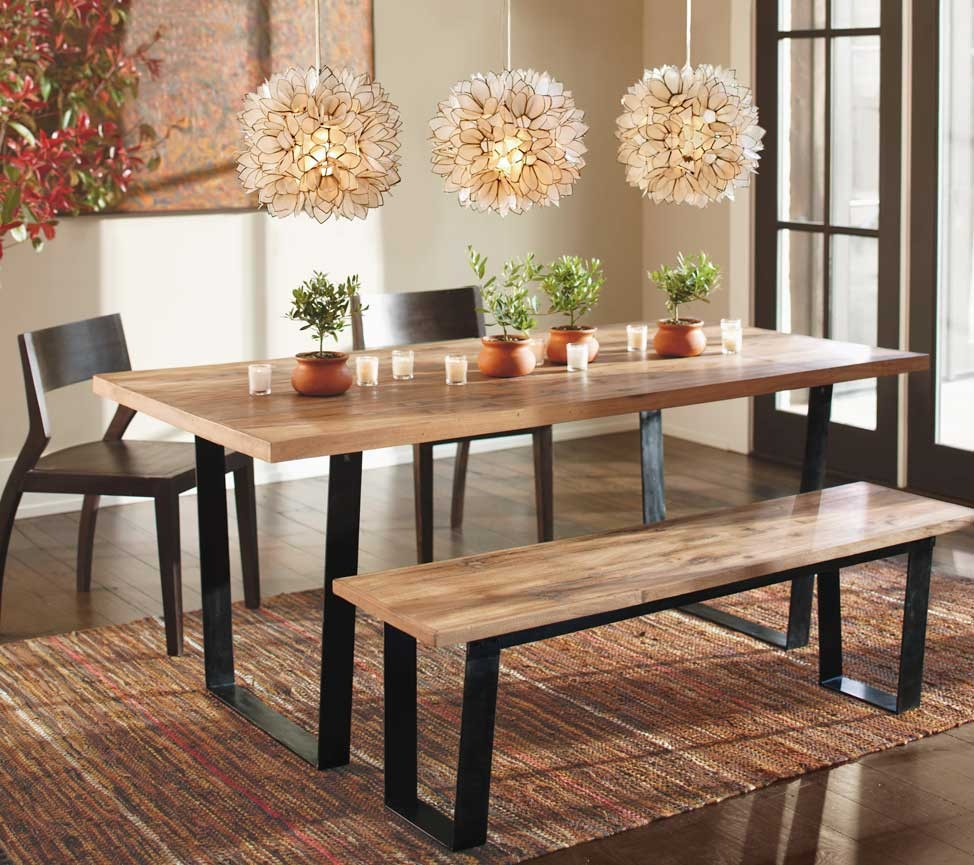 Picture of: interior reclaimed wood dining tables