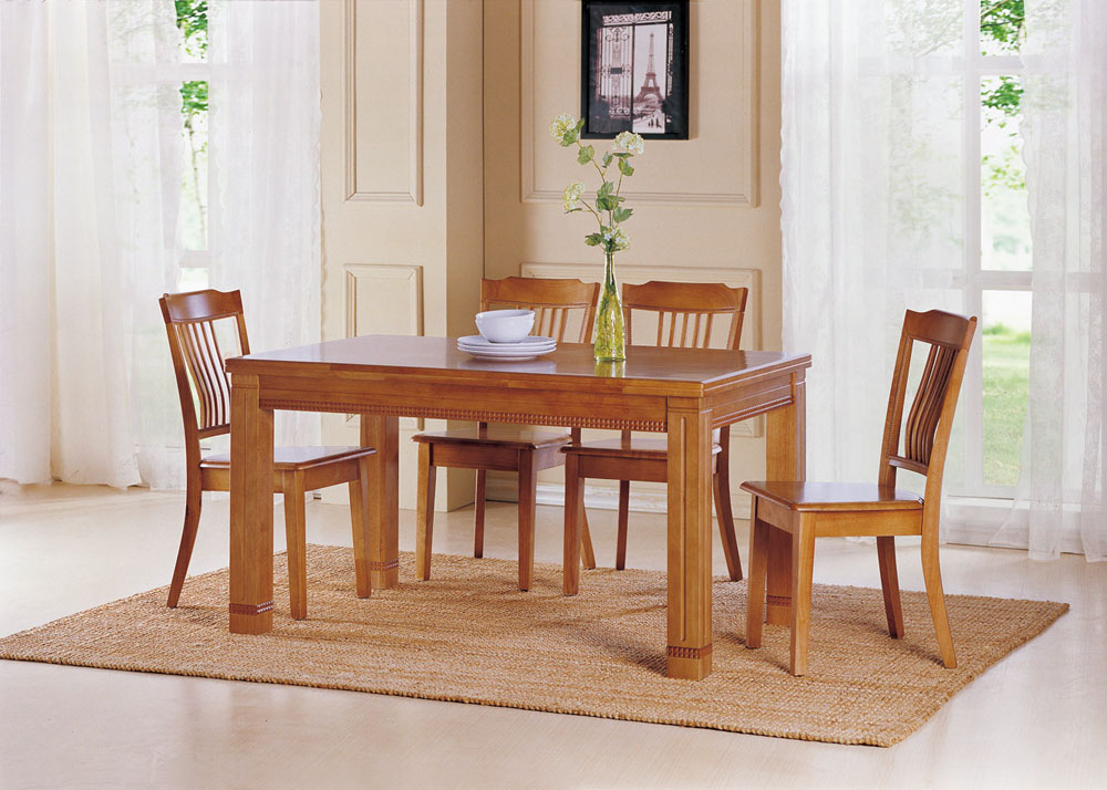 Image of: Interior Rectangle Dining Table