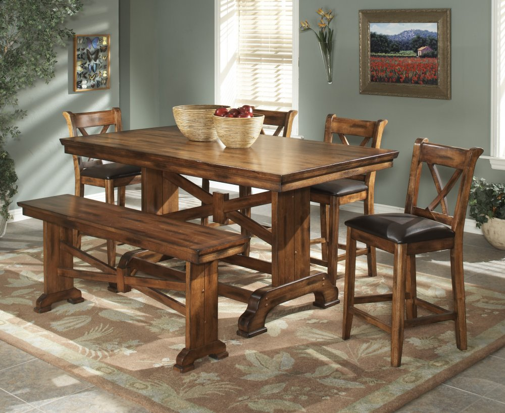 Image of: interior solid wood tables