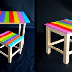 Kids Folding Table And Chairs DIY