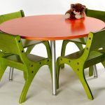 Kids Folding Table And Chairs Green