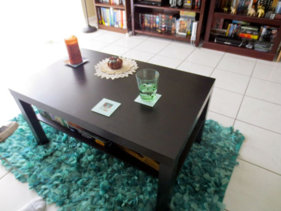 Image of: Lack coffee table hack