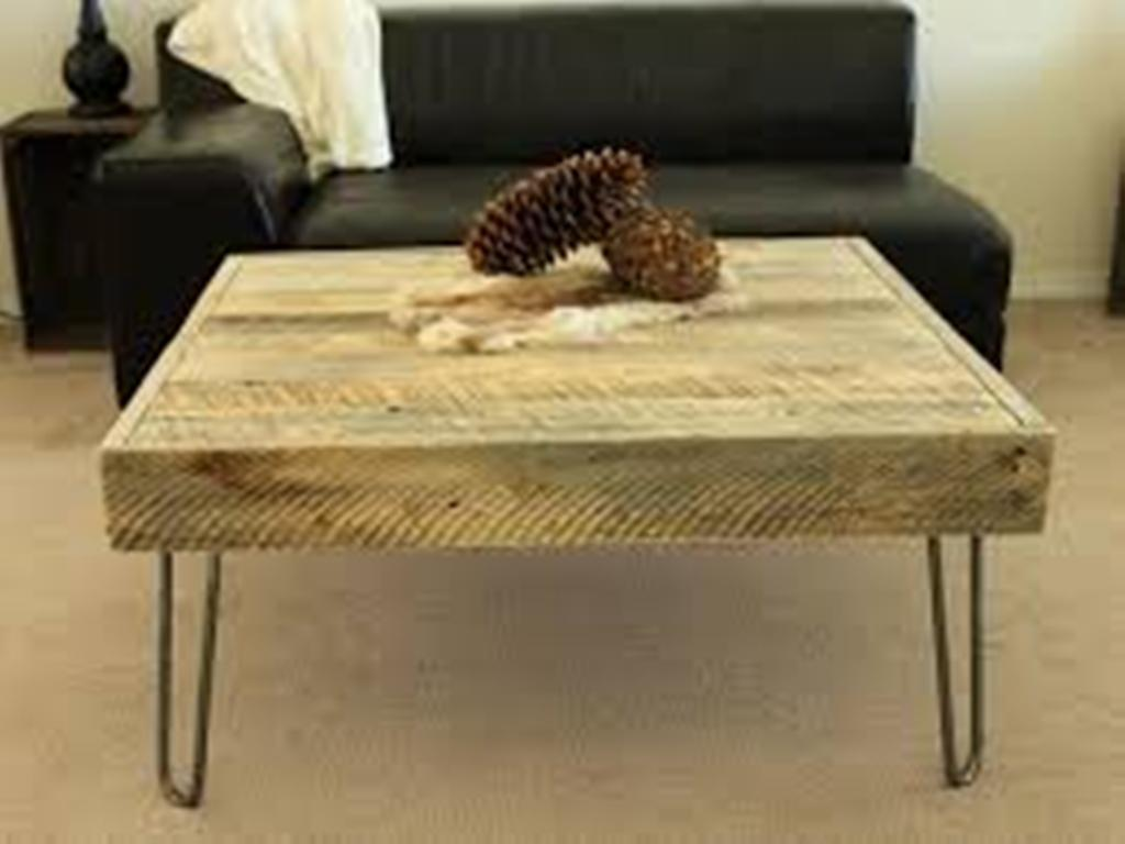 Image of: large coffee table reclaimed wood