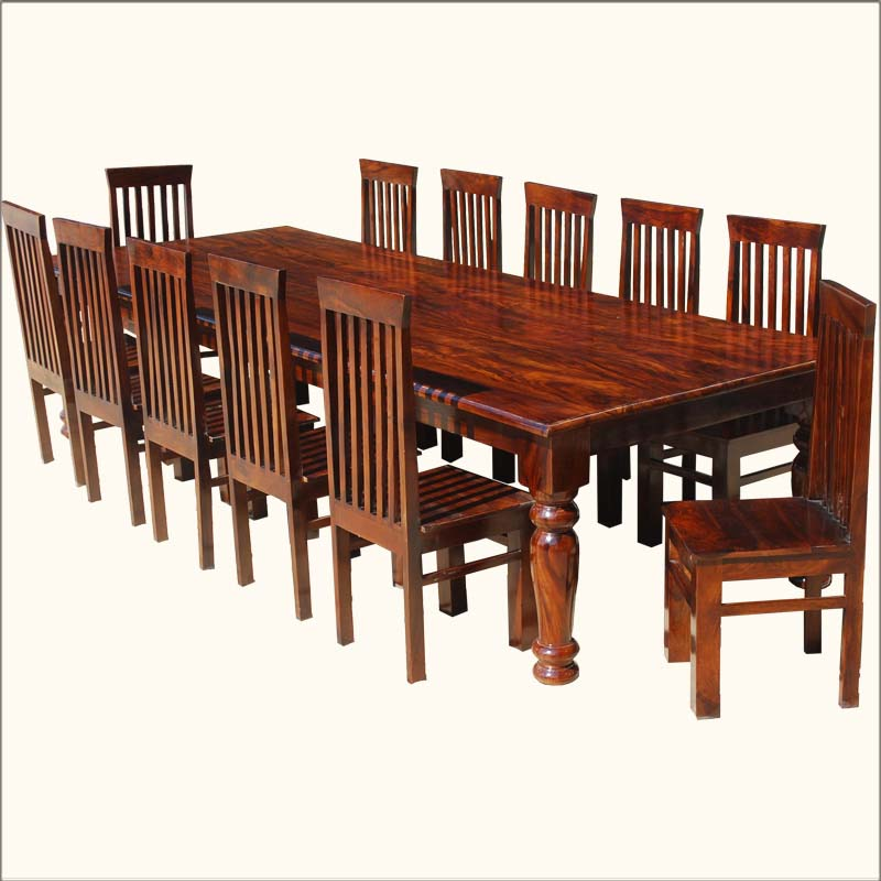 Image of: Large Dining Room Table Seats 12 Image