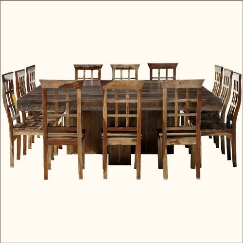 Image of: Large Dining Room Table Seats 12 Picture