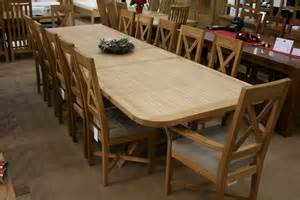 Image of: Large Dining Room Table Seats 12 Set