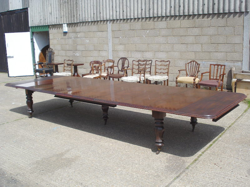 Large Dining Room Table Seats 12 Western