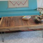 Large Square Coffee Table Reclaimed Wood