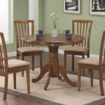 Large Round Solid Wood Dining Table