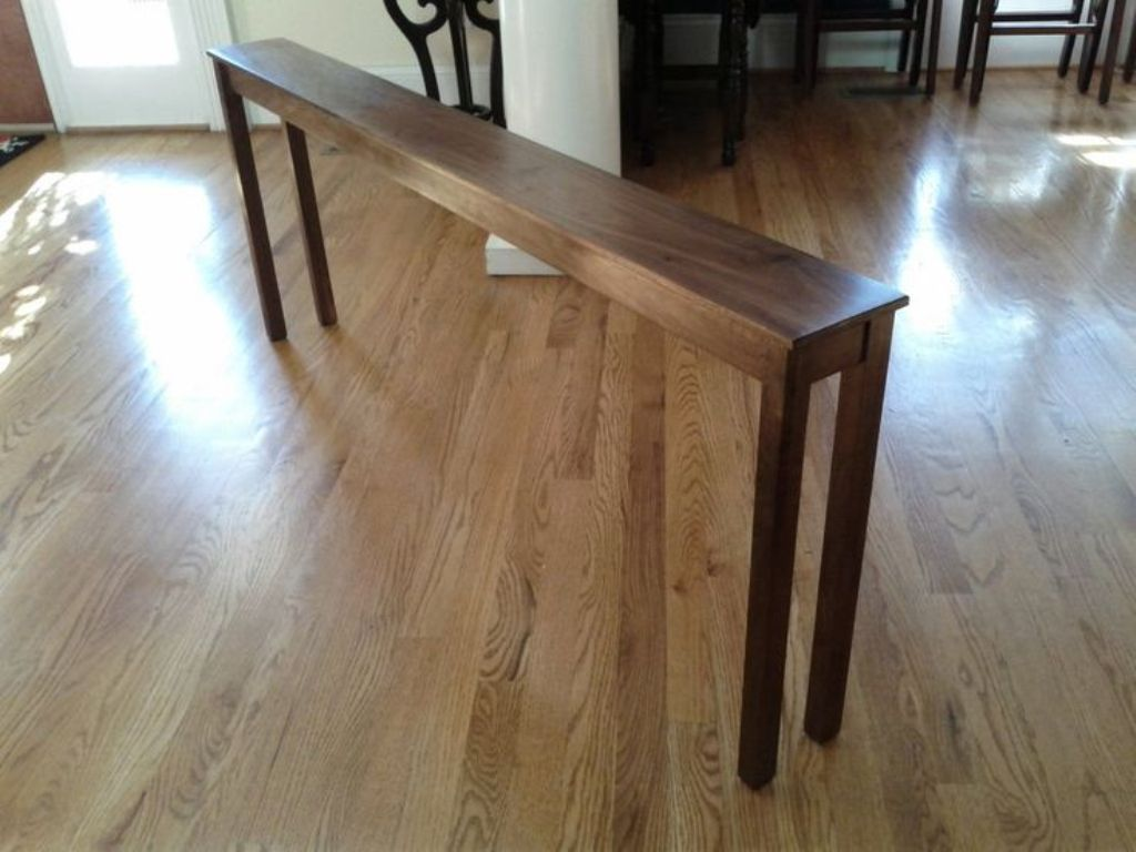 Long And Skinny Sofa Table