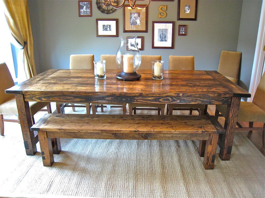 Image of: Luxury Farmhouse Table Ana White