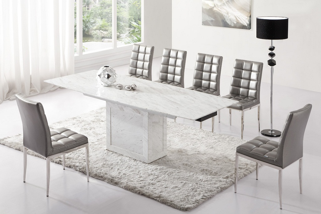 Image of: Luxury Modern Dining Tables