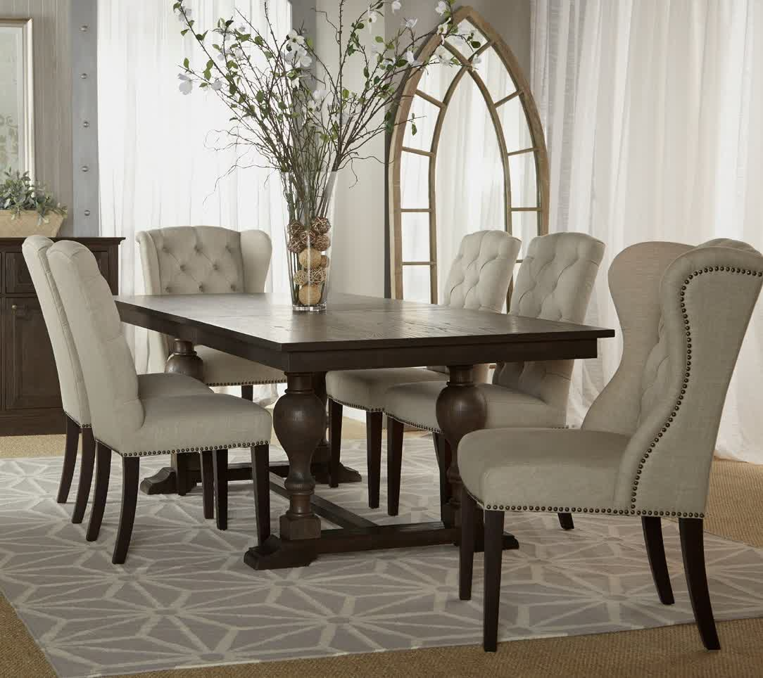 Picture of: Luxury Trestle Dining Room Table