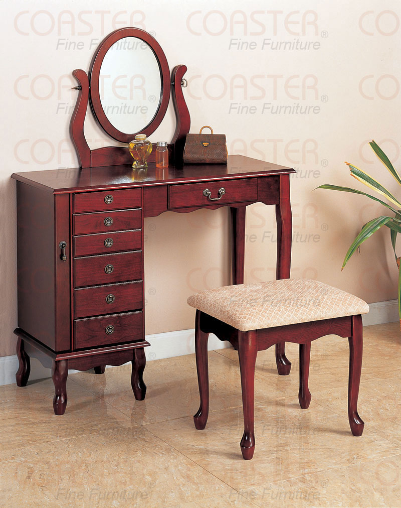 Picture of: Makeup vanity table antique