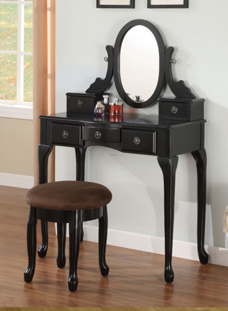 Image of: Makeup vanity table plans