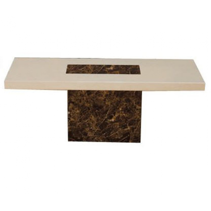 Image of: Malaga Marble Coffee Table