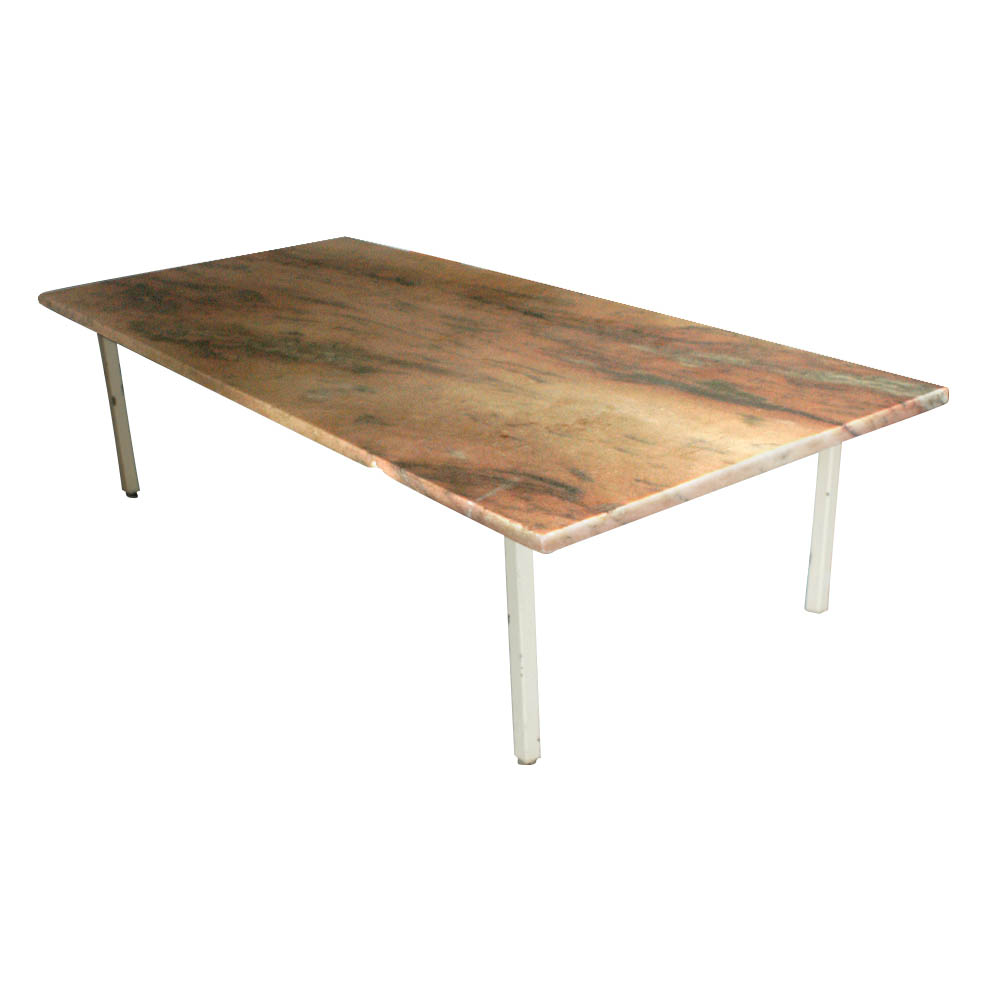 Image of: Marble Top Coffee Table