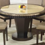 Marble Top Circle Dining Table
