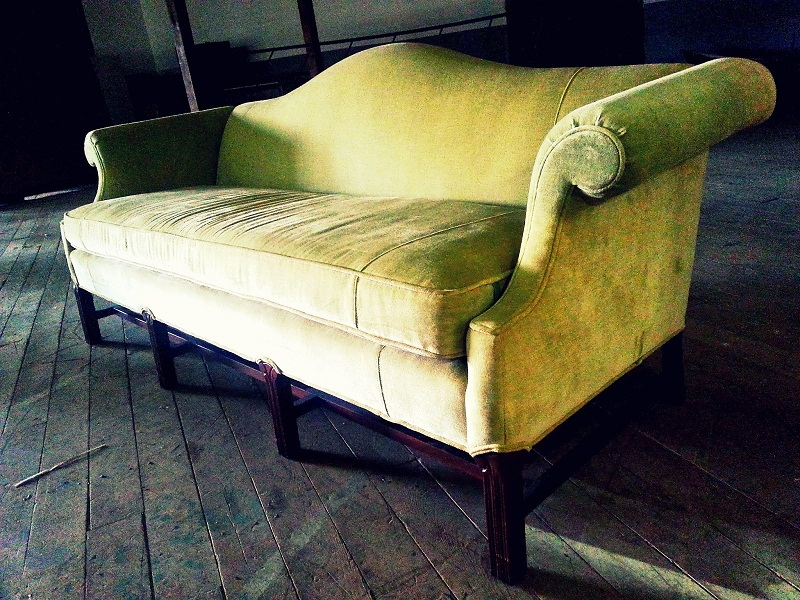 Picture of: Mid Century Modern Loveseat Image