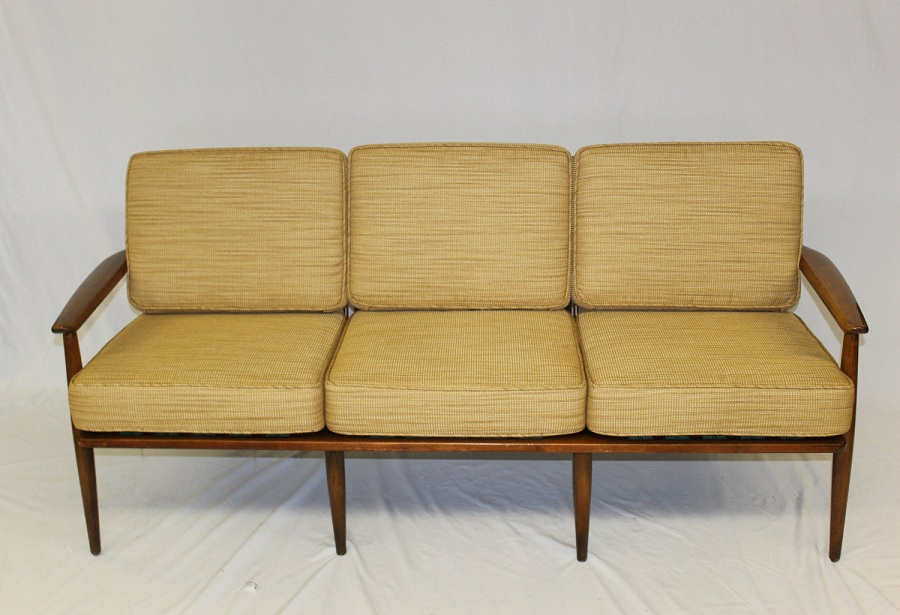 Picture of: Mid Century Modern Loveseat Vintage