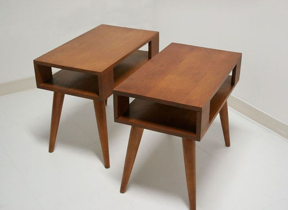 Picture of: Mid Century Modern Side Table Ideas