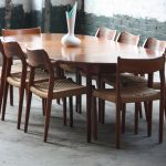 Mid Century Round Dining Table Images