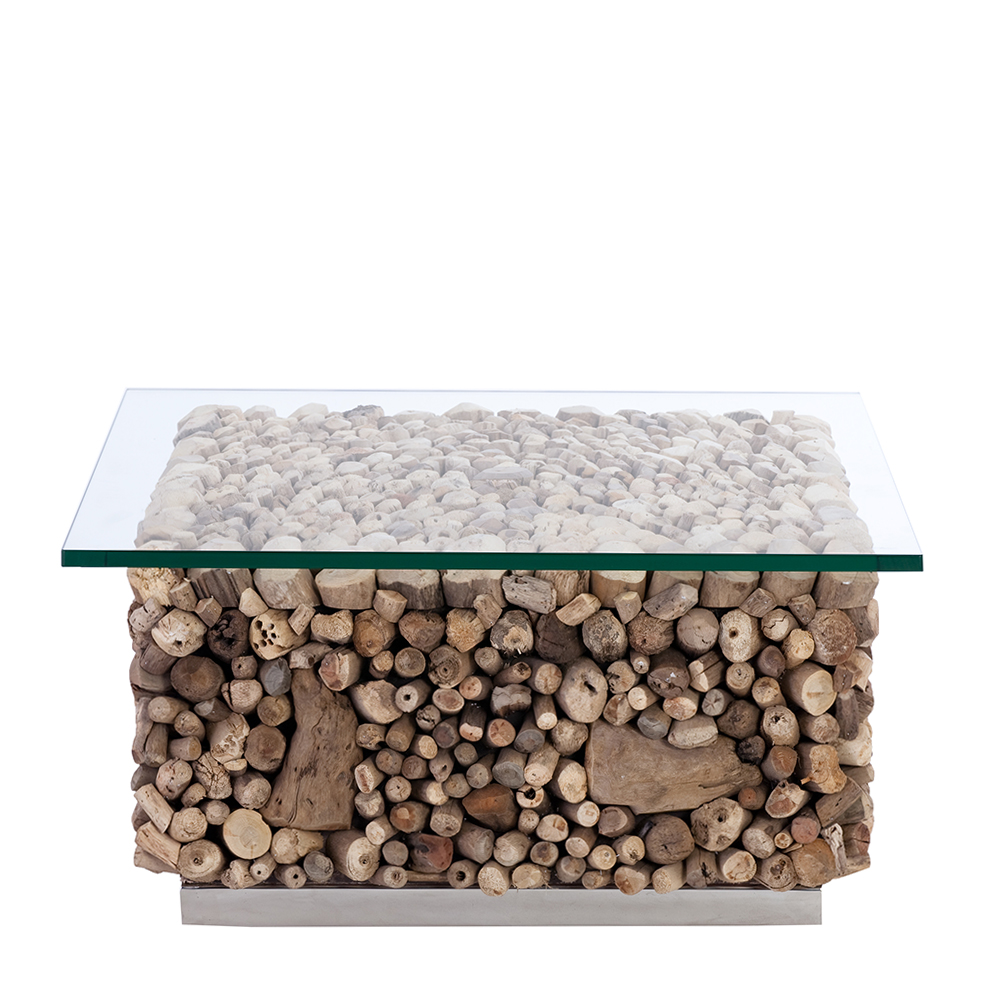 Image of: Minimalist Driftwood Coffee Table