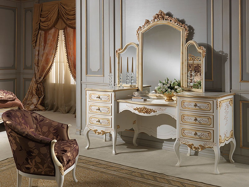 Picture of: Mirror Vanity Table Design