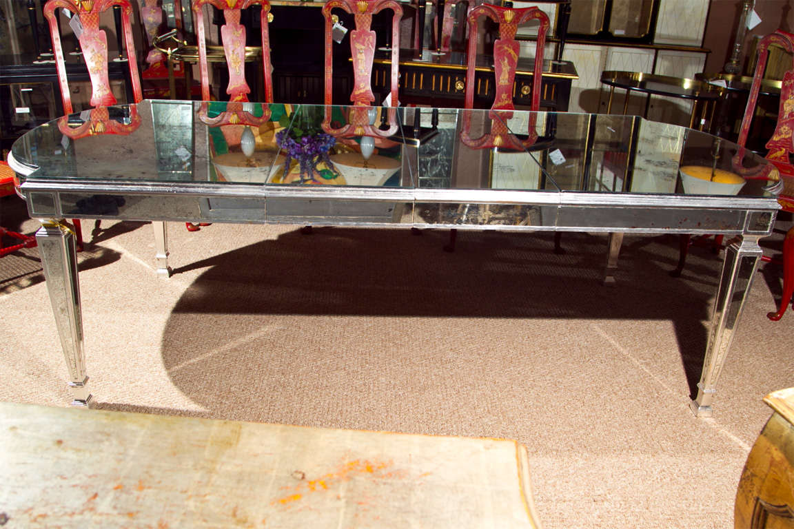 Mirrored Dining Room Table Image