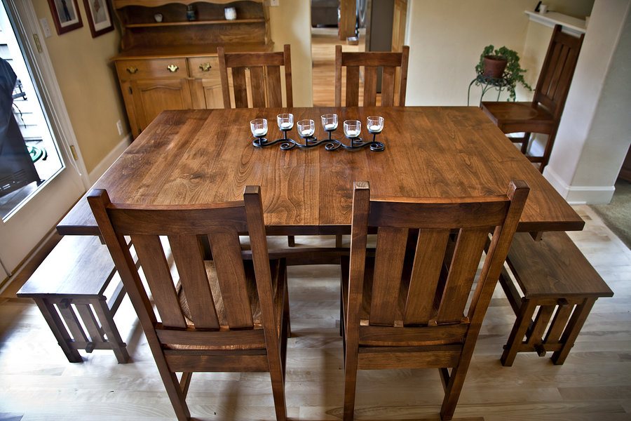 Picture of: Mission Style Dining Table Images