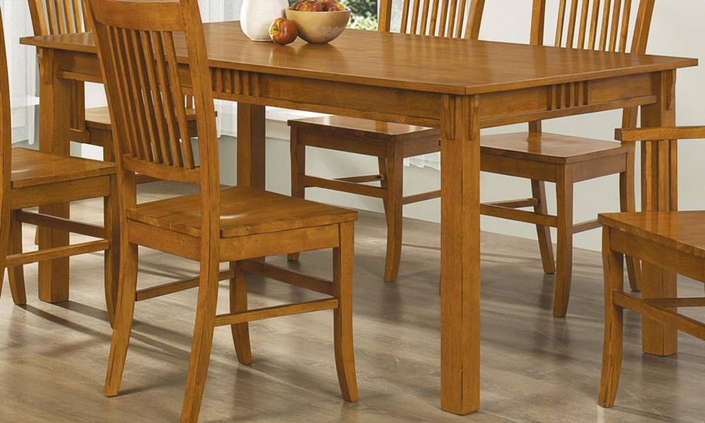Picture of: Mission Style Dining Table Picture
