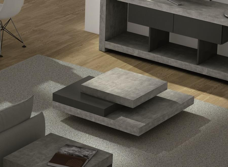 Image of: Modern Concrete Coffee Table
