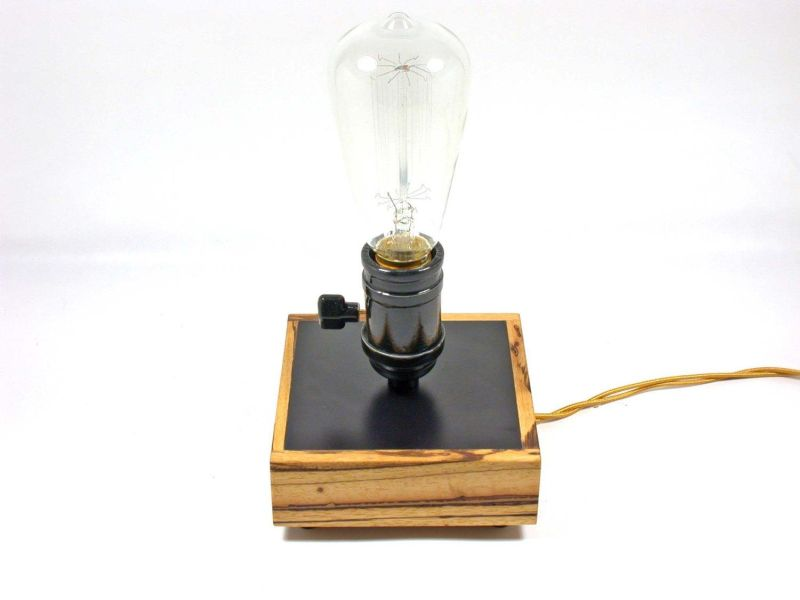 Picture of: Modern Edison Table Lamp