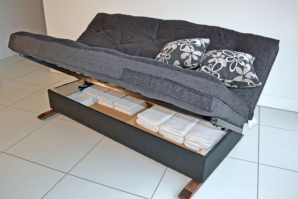 Image of: Modern Futon Beds with Storage