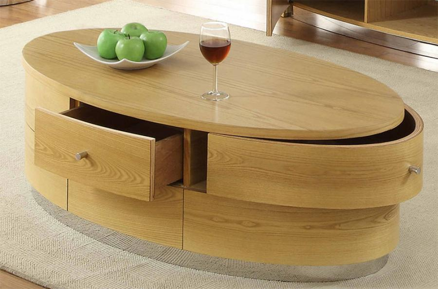 Image of: modern oval coffee tables