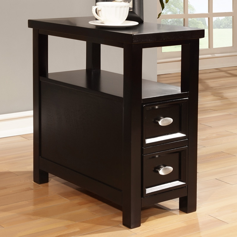 Image of: Modern Rectangular End Table