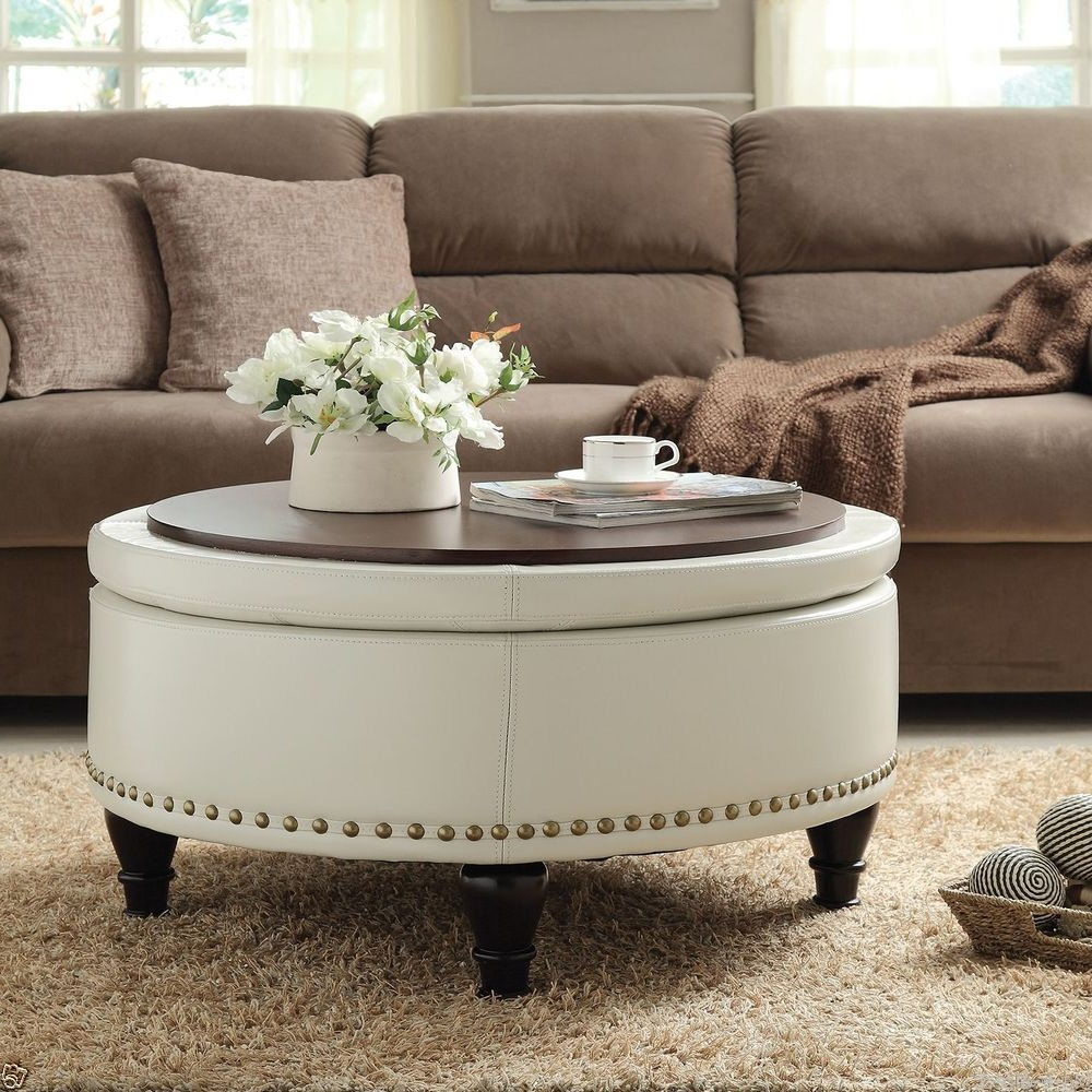 Picture of: Modern Tufted Ottoman Coffee Table