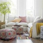 Moroccan Poufs And Ottomans