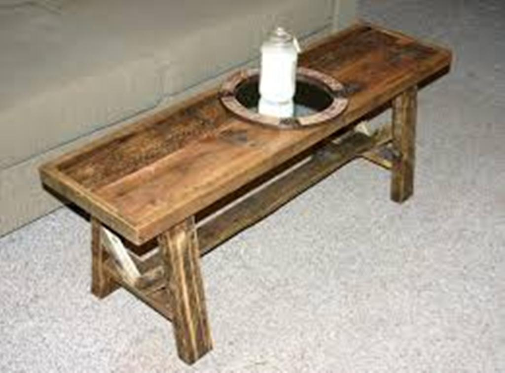 Image of: Narrow Coffee Table Sets Ideas
