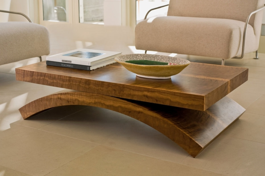 Image of: Narrow Coffee Table Slanted Legs